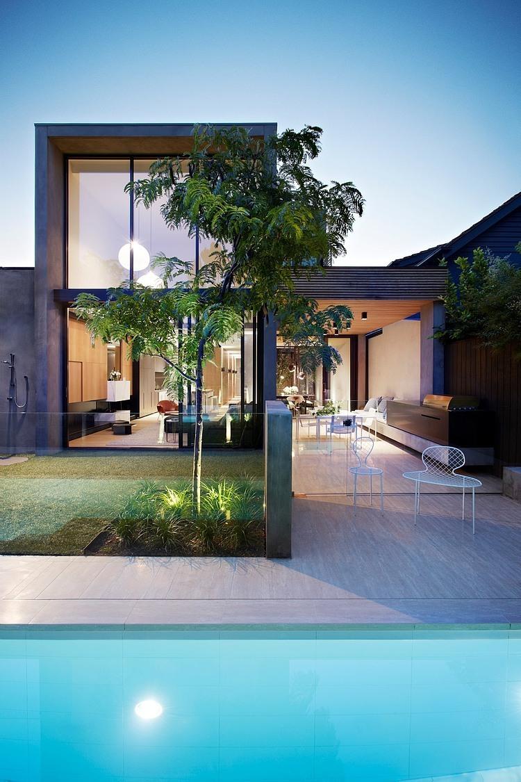 Casas pequenas e modernas forte studio de arquitetura for Home design e decoro
